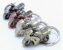 metal zinc alloy motorcycle key ring/key chain