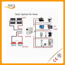 high quality 200w, 250 w solar panel 3 kw solar system hybrid solar power generation system