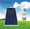 newest home use mini a grade poly type 12v 120w solar panel