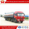 Factory outlet FAW 8*4 new corrosion chemical tanker truck for sale