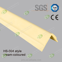45mm width L shape soft pvc corner guard for hospital