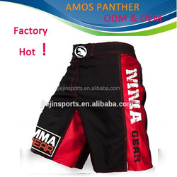 New arrival!!! !China manufactory printed custom MMA shorts,Boxing shorts MMA