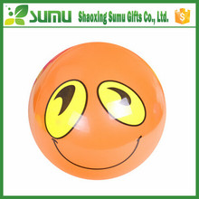 customized pvc inflatable orange beach ball