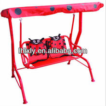 childrens kids hammock swing chair in ladybird beetle design
