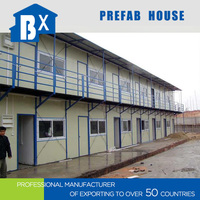 Easy Installation Flat Package economic cheap prefab houses