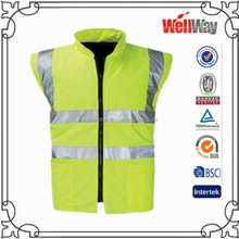 2015 workwear sleeveless jacket vest for winter with fleece