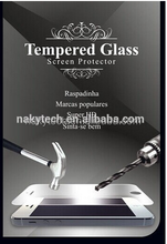 9H hardness 2.5D round edge tempered glass screen protector for one plus two
