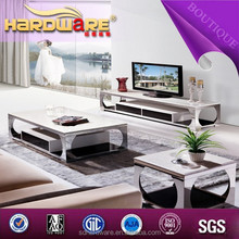 2015 fashion modern tv units furniture for living room