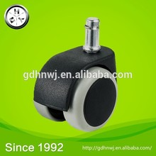 Services to provide product character and generation of processing Professional plastic caster wheel/50mm pressure caster