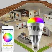 wifi Android IOS RGBW side emitting led light bulb