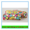 Full printing PVC PU material pen zipper case wholesale pencil case