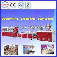 Price of plastic extrusion machine for PE PP PVC wood plastic profile