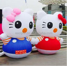 Large Display Inflatable Cute Cat Model