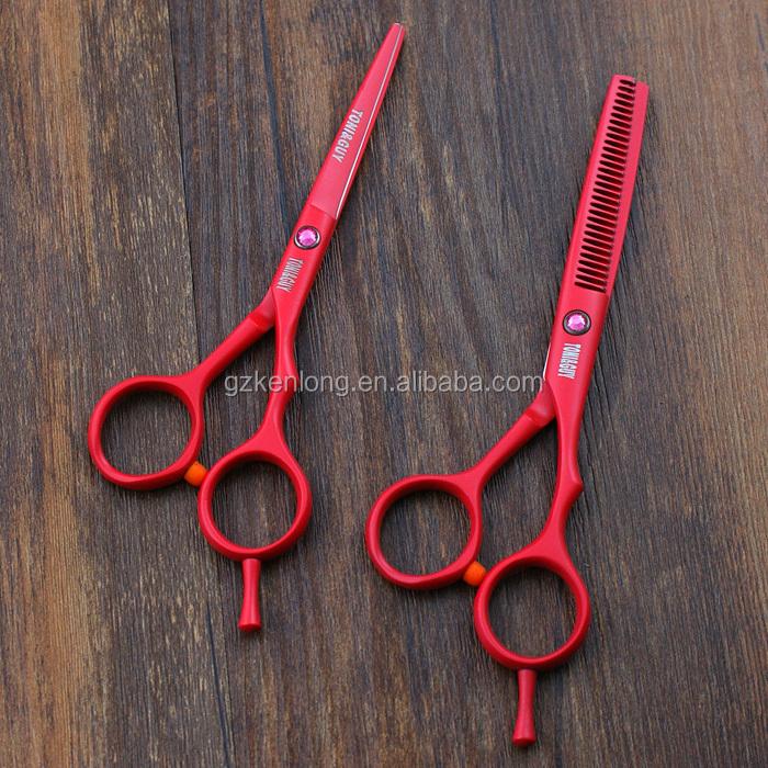 Professional Salon Colorful Tattoo Hair Cutting Scissors Buy