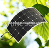 high efficiency mono 100w 135w flexible solar panel