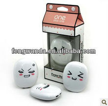 2012 Top Sale! 2013 NEW FACE portable power bank
