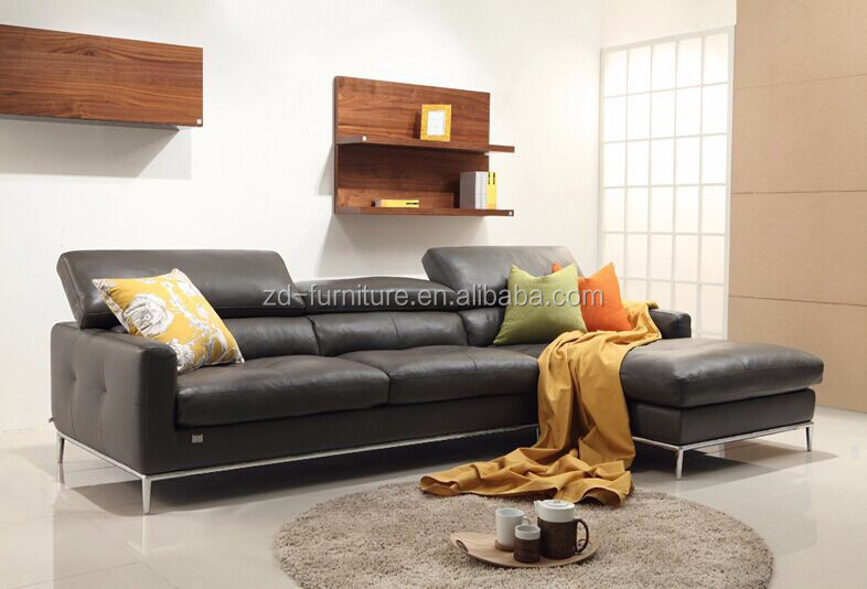 Modern leather sofa set for living room furniture Korean  : Modern leather sofa set for living room from www.alibaba.com size 786 x 534 jpeg 67kB