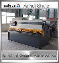 guillotine paper QC12Y-12X2500, NC hydraulic guillotine shearing machine