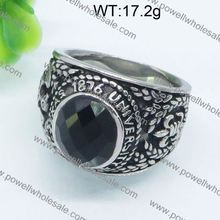 Ruggine- resistente bella 3 carati di fidanzamento con diamante solitario anello