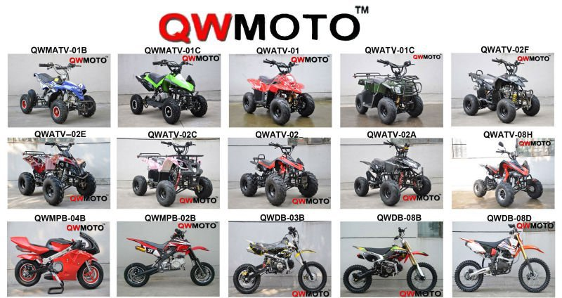 QWMOTO CE new 125cc cheap atv for sale