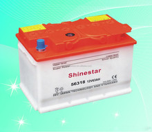12V 63AH Lead Acid Dry Charged DIN 63 Rechargeable Auto Car Battery -56318
