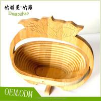 Natural wood colour tomato basket