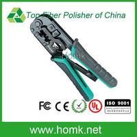 Proskit CP-376TR 4P/6P/8P Fiber Optical Modular Crimper Crimping Pliers
