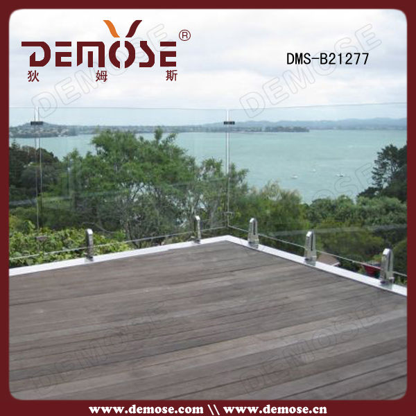 Steel Balcony Fence Grill Panels Design China Demose - Buy Steel ...