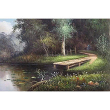 Hot Sale New product Natural Scenery Paintings with Picture for wall decoration