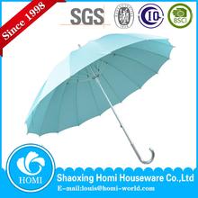 Homi rushed promotion straight man umbrella/BSCI factory audit 190t pongee fabric umbrella