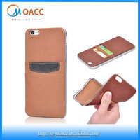 2015 new product tpu+leather lagging cell phone case for iphone6/6 plus