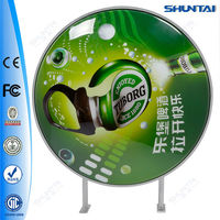China distributor acrylic outdoor beer round lighted sign