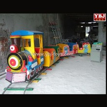 2015 electric train for sale for children playground/kids electric train/electric mini train with track