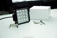 48w LED Off Road Work Lights Driving Lights Lamp for Suv,utv,atv 12v 24v Square led work light