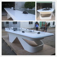 Fantastic! Acrylic marble luxury conference table modern boardroom meeting table