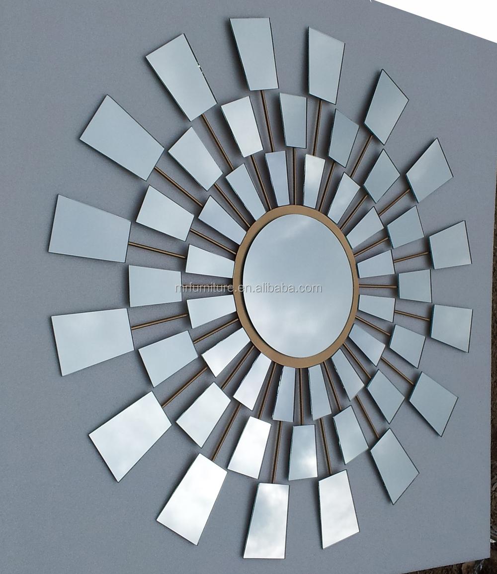 Ijzeren muur decoratie in sunburst spiegel ontwerp andere home ...