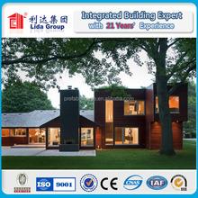 prefabricated wood house/timber villa/log homes