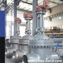 API600 OS&Y Cast Steel Gate Valve with RF or BW Ends