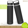 Super Quality Travel Sports Glass Water Bottle with Silicone Cover