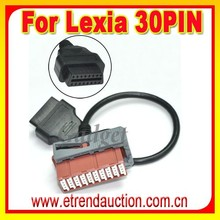 Best price and Hot selling 30pin cable For Lexia3 Auto Diagnostic Tool For Peugeot For Citroen For Lexia 3 with 30pin Cable