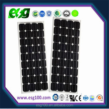 Mono 80W solar panel in China with full certificate