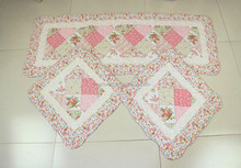PInk cotton fancy fashion style adults car mat washer