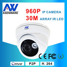 30M Door Dome AW-IP433 960P HD Safety Surveillance IP Speed Dome Camera System From Shenzhen