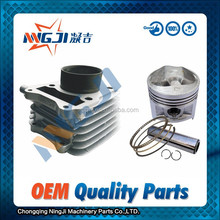 Qingqi GS125 Motorcycle Cylinder kit High Quality Motorcycle Parts Motorcycle Engine Parts Block 57mm diameter