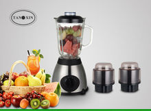 2014 hottest blender, good quality home appliance for kitchen, 1.5ml glass blending cup, PC chopper or grinder