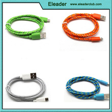 fabric Charging Data cable,fabric charging usb cable,fabric coated cable