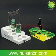 2015hot sale new product acrylic wine holder beer bottle holder