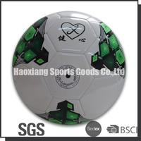 jiangxing logo foamed pvc football