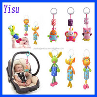 Wholesale Fashion Animal wind chime baby baby Plush Toys