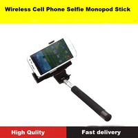 Bluetooth Wireless cell phone camera selfie Mount holder for Android and Iphone cell phone